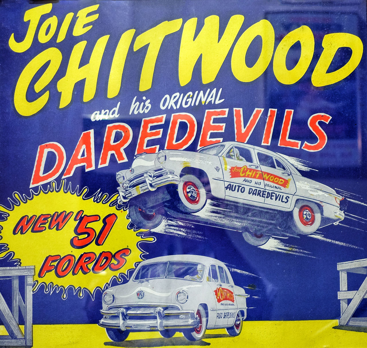 """""""Joie Chitwood"""" Cat Joie Chitwood. Dare Devil Pose Studying Stunt Driver Transportation"""
