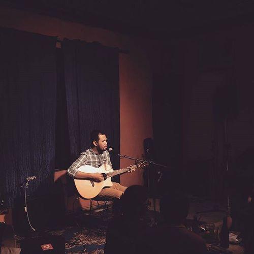 Acoustic night with Johnoy. :) Conspiracybar