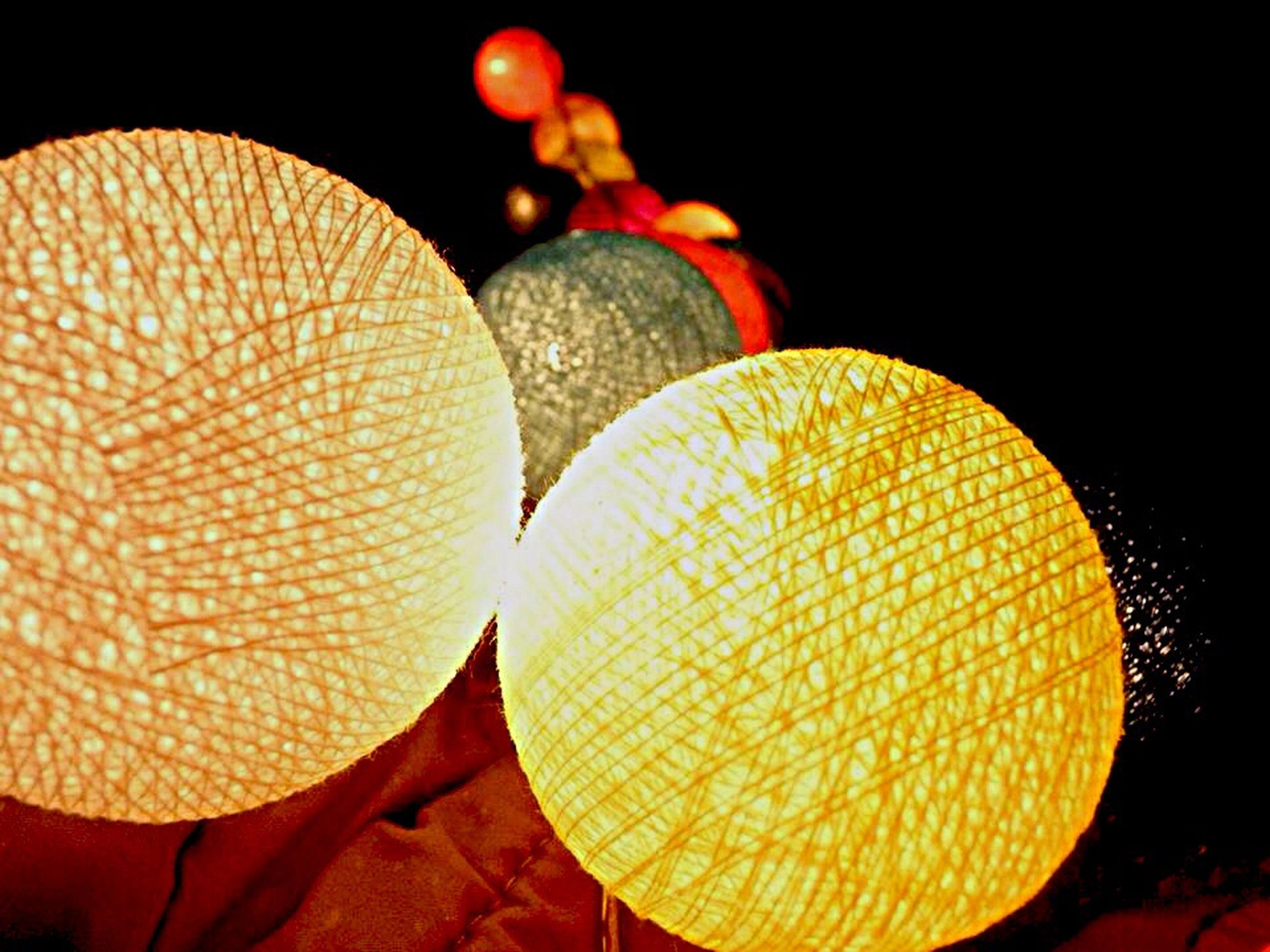 illuminated, indoors, decoration, night, close-up, hanging, lantern, tradition, cultures, celebration, sphere, lighting equipment, still life, large group of objects, low angle view, orange color, no people, abundance, in a row, circle
