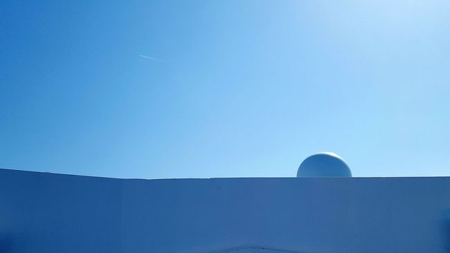 Clear Sky Building Exterior Outdoors Blue Ship Details Ship Fine Art Detail Particulars Abstractions Sky Sun Clear Sky Sternght