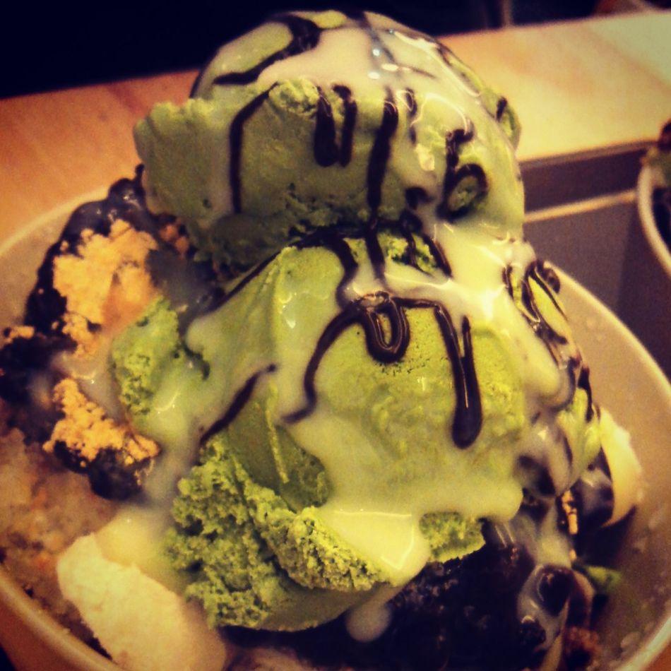 녹차빙수 Green Tea Ice Cream 짱짱맛♥