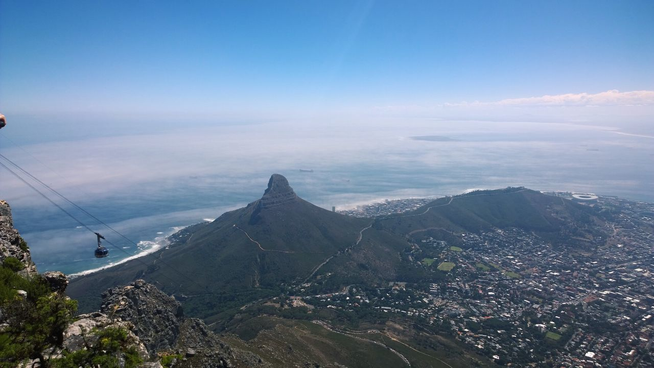 Landscape - view from Table Mountain . Lumia1020 Mvaau Vscocam RePicture Travel