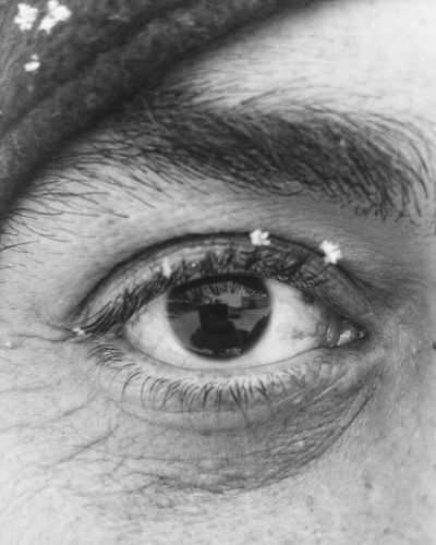Human Eye Human Body Part Looking At Camera Sensory Perception One Person Full Frame Close-up Portrait Winter Eyebrow Eyesight One Man Only People Adults Only Only Men Snow Human Skin Adult