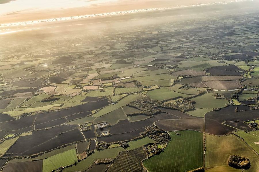 Beautiful view of London from above Aerial View Aerialphotography Landscape Outdoors Nature Beauty In Nature Scenics Wide Shot Field Agriculture Day City No People Patchwork Landscape Photoblogger Travel Travelblogger Travel Destinations