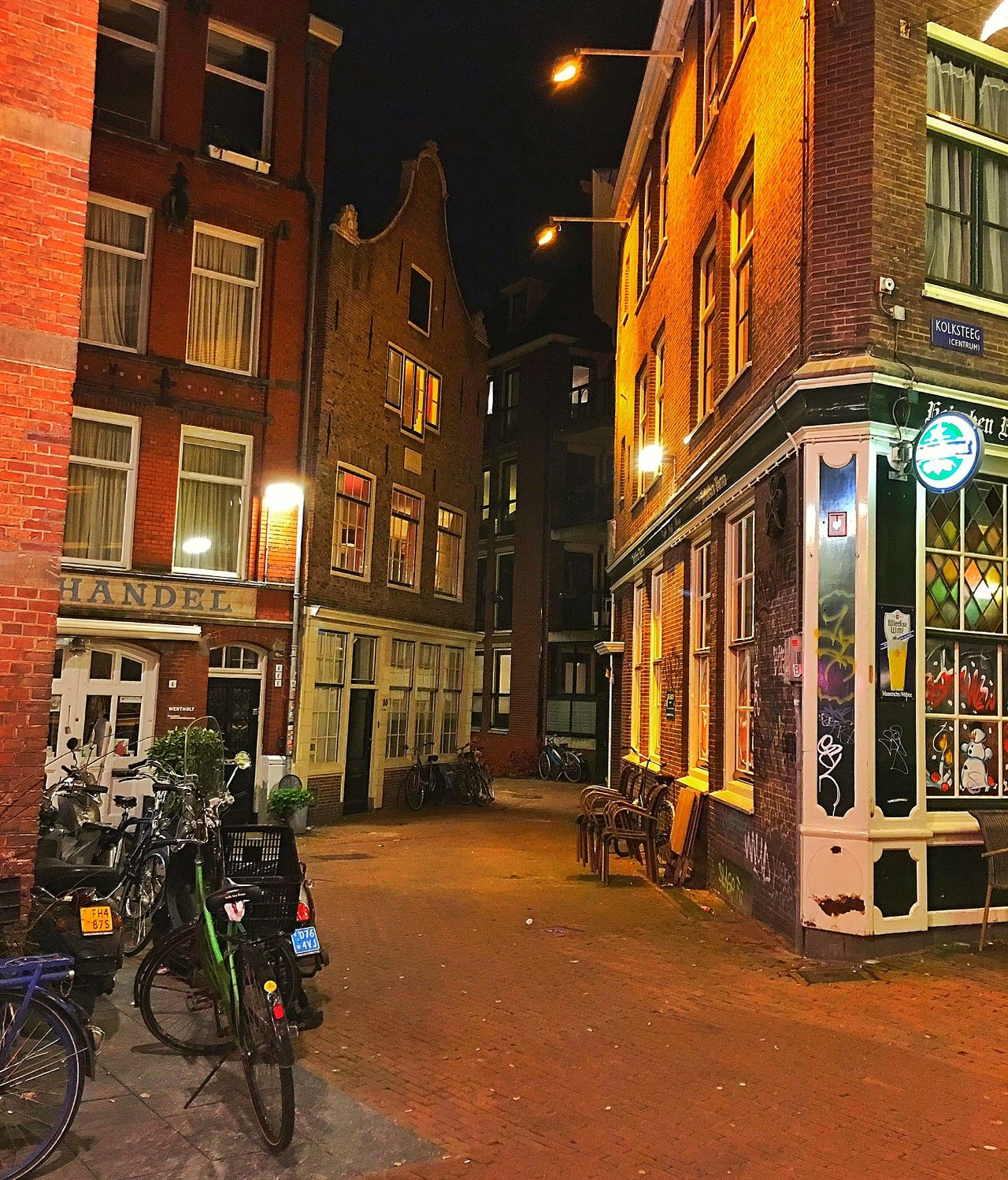 Amsterdam Amsterdamcity Architecture Beautiful Building Building Exterior City City City Street Citylife Holland Iamamsterdam Illuminated Netherlands Niederlande Night Oldtown Residential Building Street Street Light