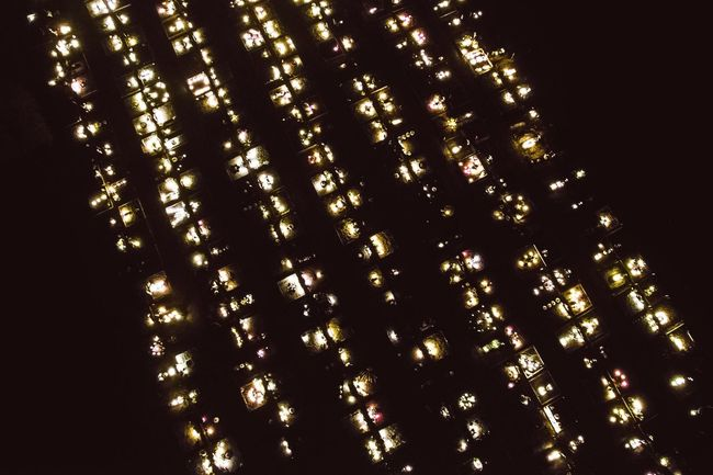 All Saints' Day in Lithuania   Candle Aerial Shot Drone  Topview Night Long Exposure Night Lights All Saints' Day All Saints