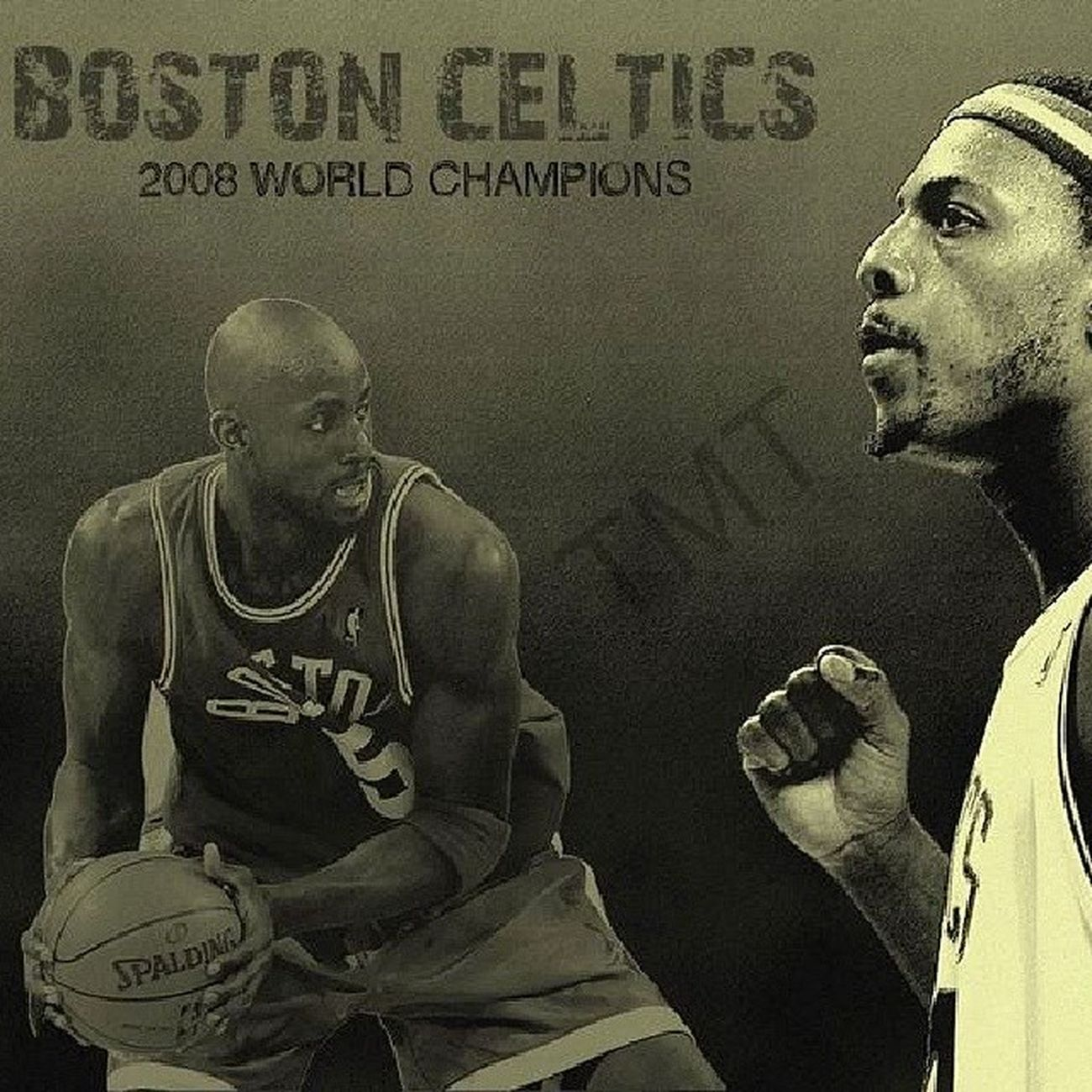 Those guys still Celtic and Bleed Green.. BostonCeltics PaulPierce Kevingarnett KG Thetruth return nba Basketball