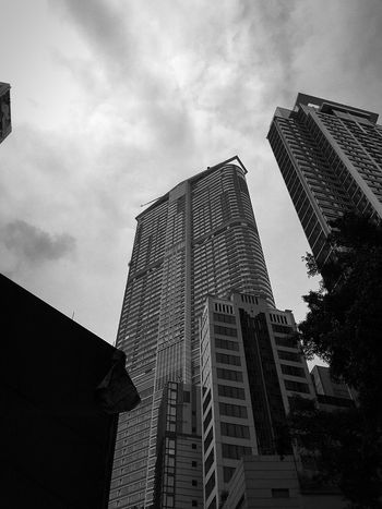 Shadows & Lights Sun And Shadow Architecture Blackandwhite Black And White Light And Shadows Hong Kong Architecture Hong Kong Skyline IPhoneography Light And Shadow Cloud And Sky Eyem Best Shot - Architecture Street Photography