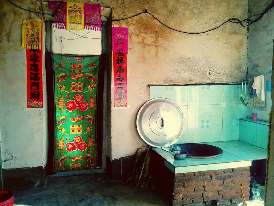 The satisfaction of a clean kitchen. Indoors  Day No People Architecture 中国 China Blue Relax Kitchen Stories Kitchen Kitchen Life Clean Inner Mongolia 内蒙古 赤峰 Turquoise Rustic Rustic Living Rural Life Rural Exploration Adventure Travel EyeEm Diversity EyeEmNewHere
