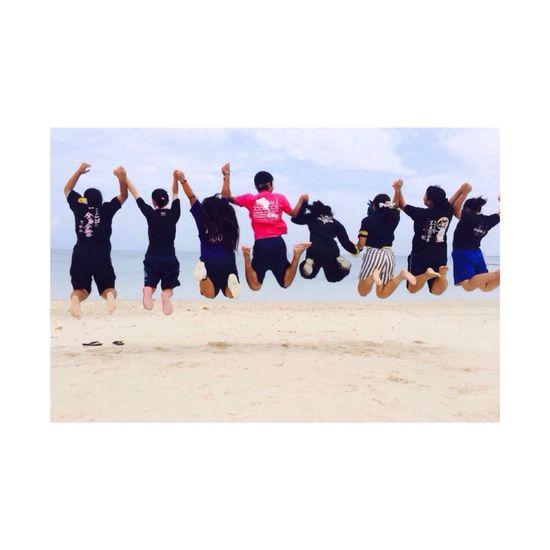 Everyday Joy Enjoy Friends Okinawa Sea Japan Jamp! Good Times