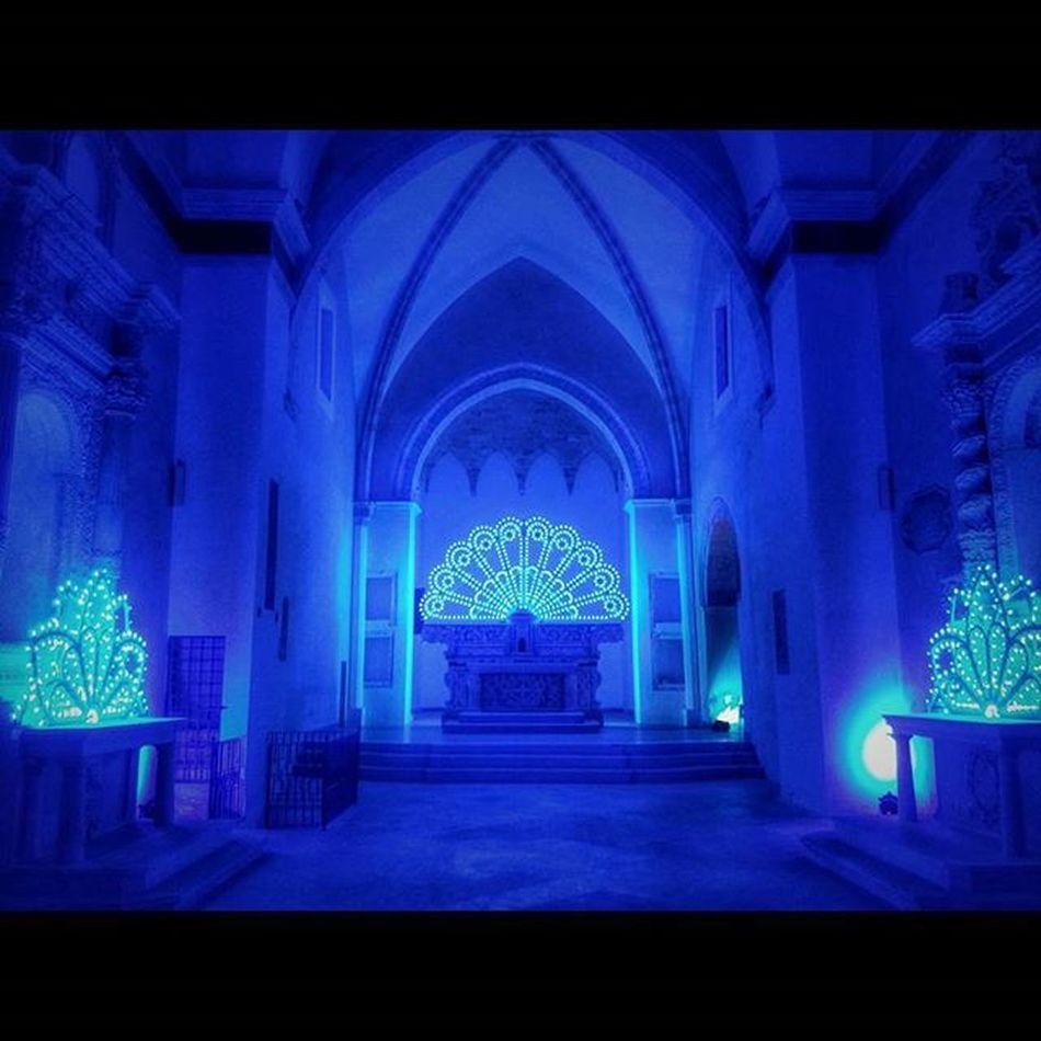 Salento Church Chiesa Convento Cinema Cinemadelreale Summer Estate Blu Lights Notte Night Colorful Instaday Picoftheday Specchia Ig_salento Ig_lecce Ig_puglia Blue Wonderful Beautiful Instagood Italy Life