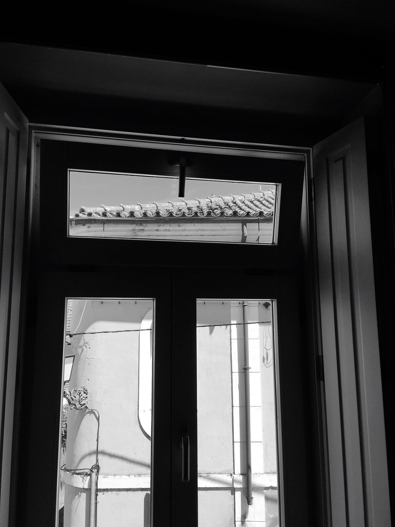 Through a window Black & White Urbanphotography Urban Geometry Old Town Portuguese Tiles