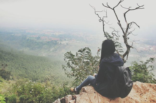 I love to see my town from above ? Bandung, West Java Landscape Naturescenery Cityview