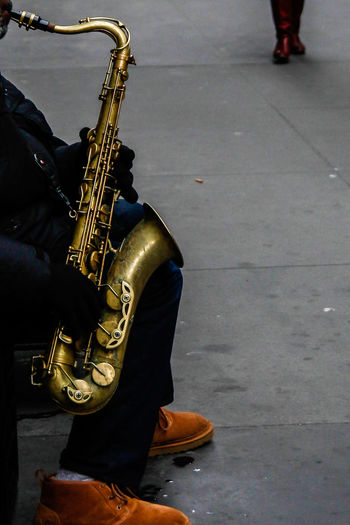 Adult Japan Jazz Music Manhattan Jazz Music Musical Instrument Musician New Yokr New York Jazz Outdoors People Saxophone Saxophonist The City Light