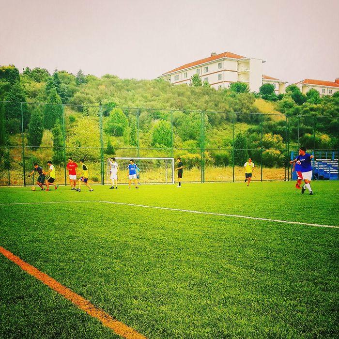 Enjoying Life Enjoy Sabanci Playing Football