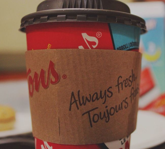 Coffee Hot Chocolate Timhortons Canada