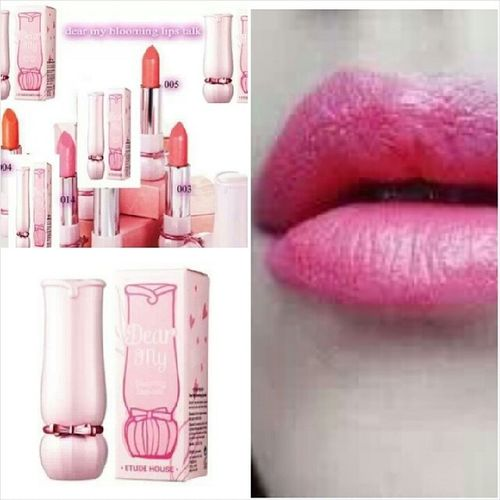 DEAR MY BLOOMING LIPS TALK KOREA WA 0137471749 Lipstick Visitmyig Visitig Sayajual iklanig