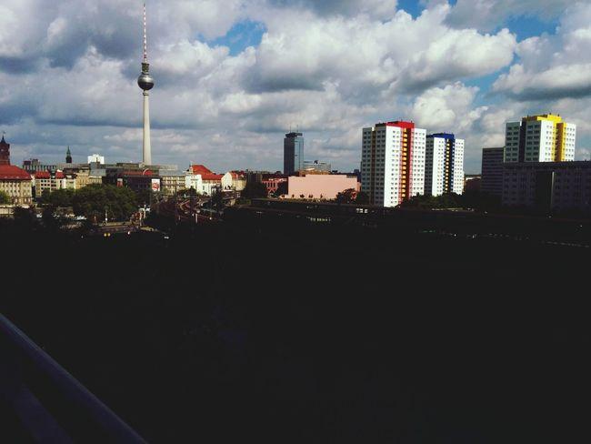 Überblick von Berlin beim D64/Cnetz Frühstück nach der Republica14