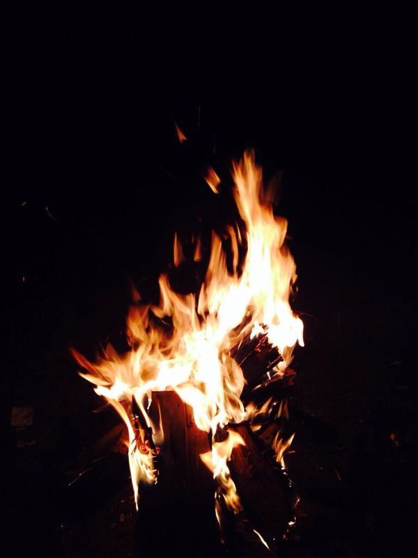 Fire Summer In The Contry Forest Happiness Hello World Warm