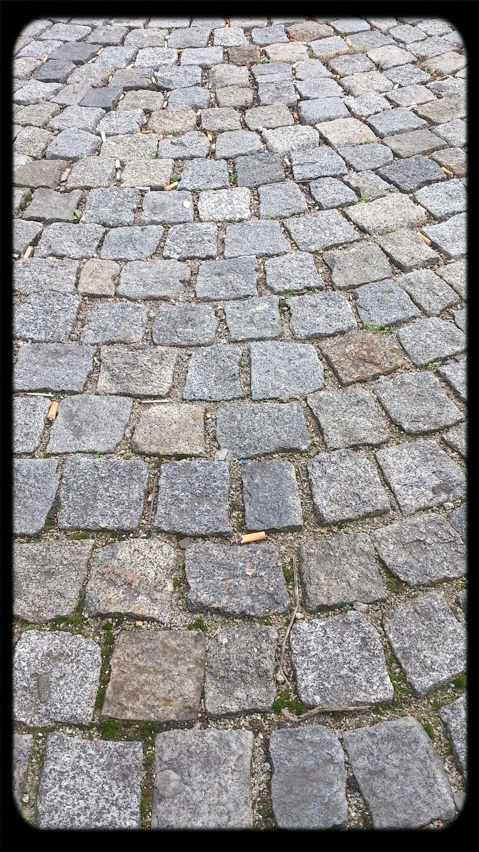 Pflastersteine Street