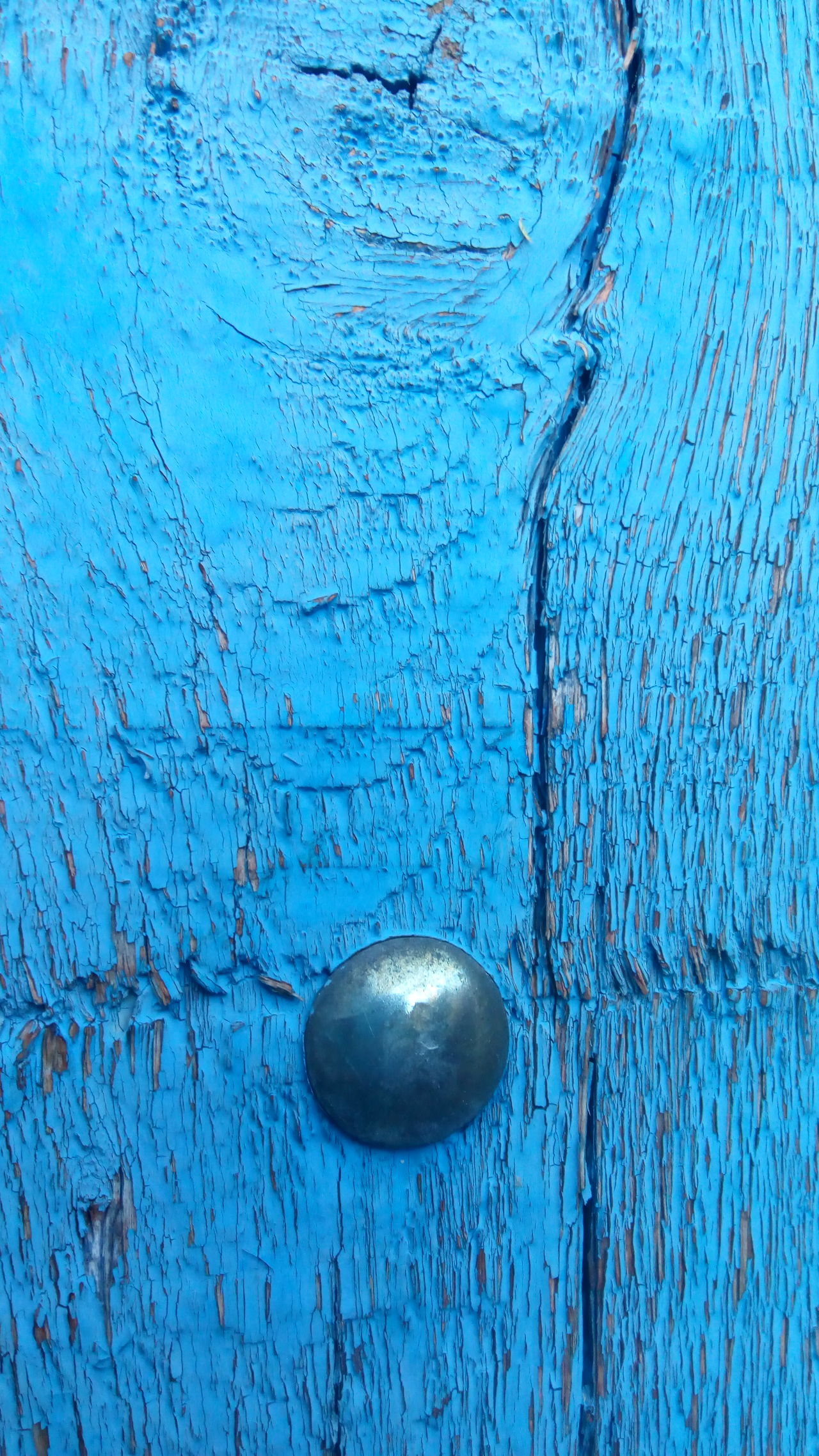 Blue Door Textured  Close-up Full Frame Outdoors No Entiendo Nada  Paint Decay