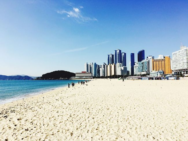 This is korea!!! Korea In Busan Busan Bay Ocean View Ocean Beach Beach Photography Eyemphotography Eyeemphoto Photography Photo Photoshoot
