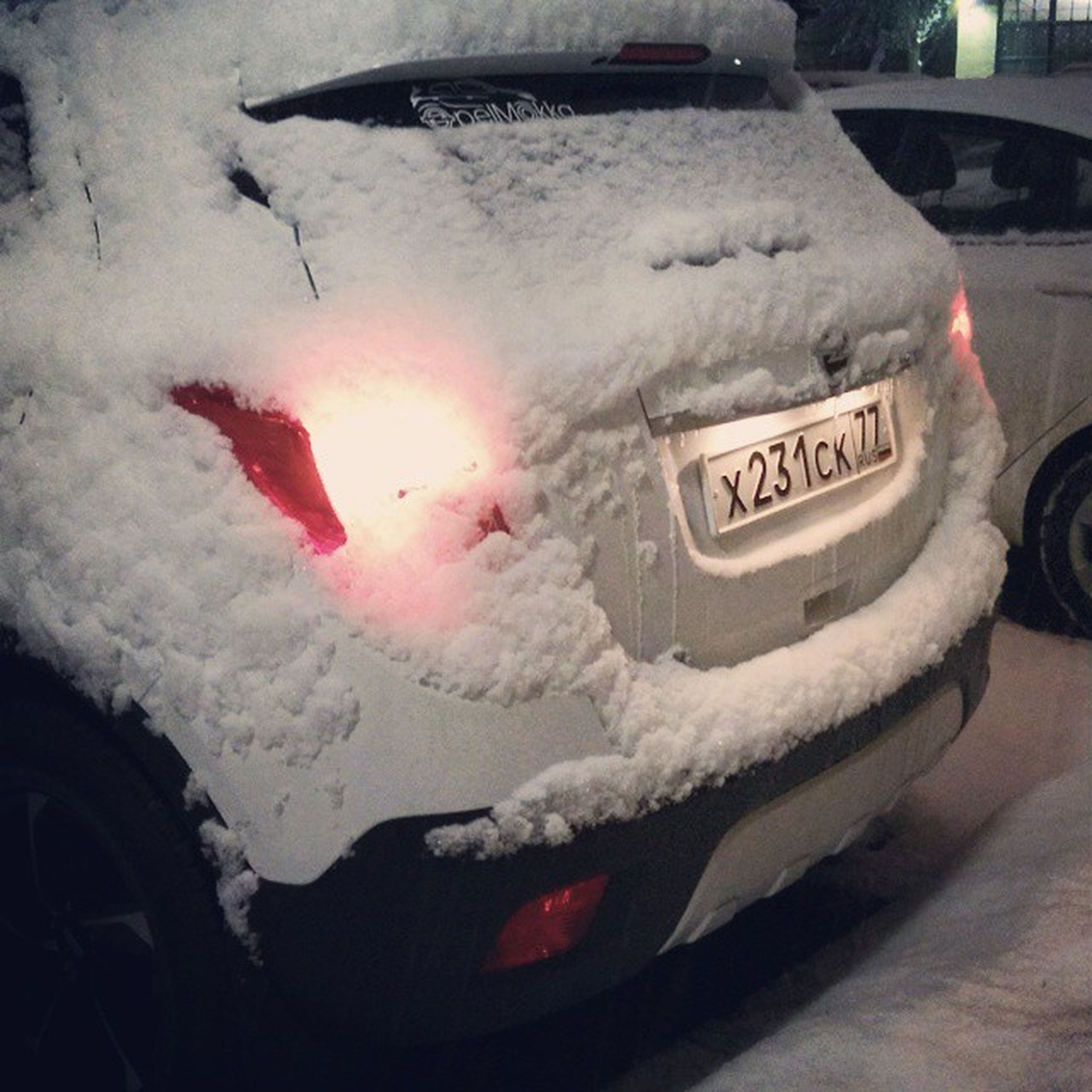 MokkaDay 406: привет, снеговик! опель Мокка опельмокка Opel Mokka Opelmokka MokkaClub MokkaRussia MokkaNation