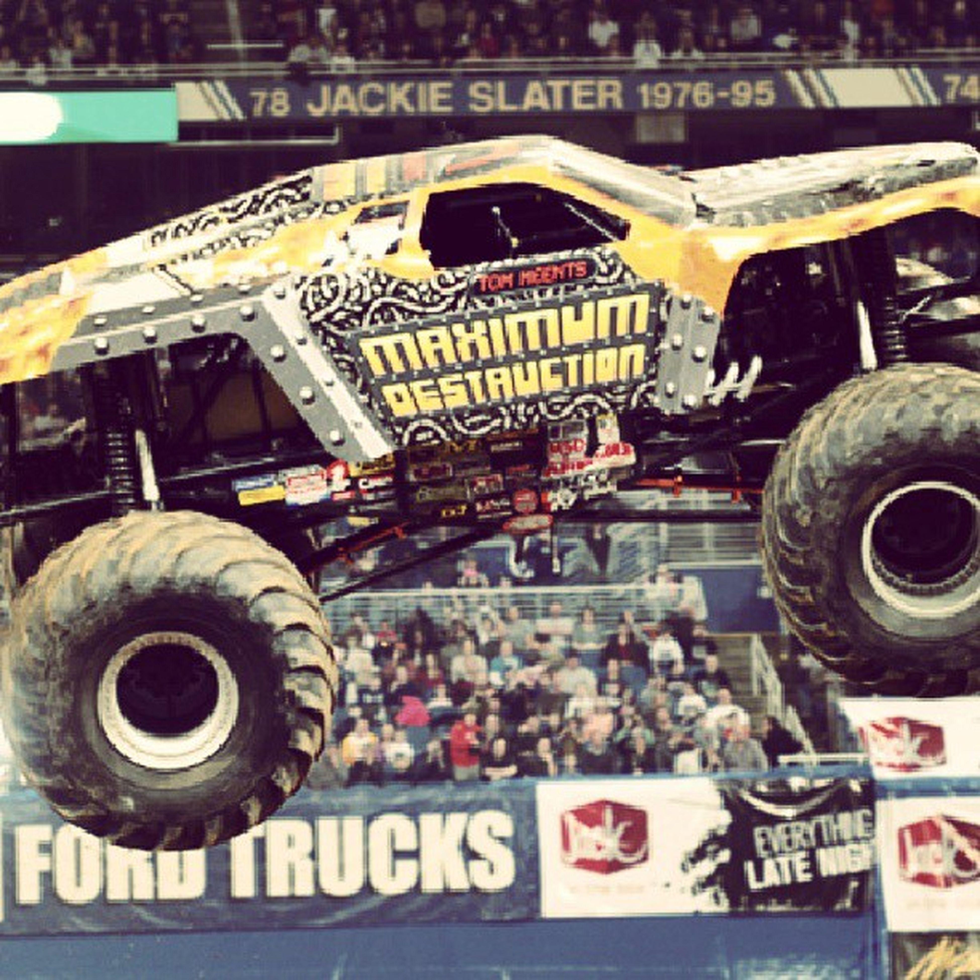 Monsterjam Maximumdestruction 4x4 Monster truck
