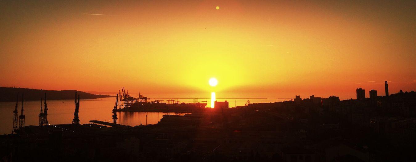 Sunset November TriesteSocial Tramonto