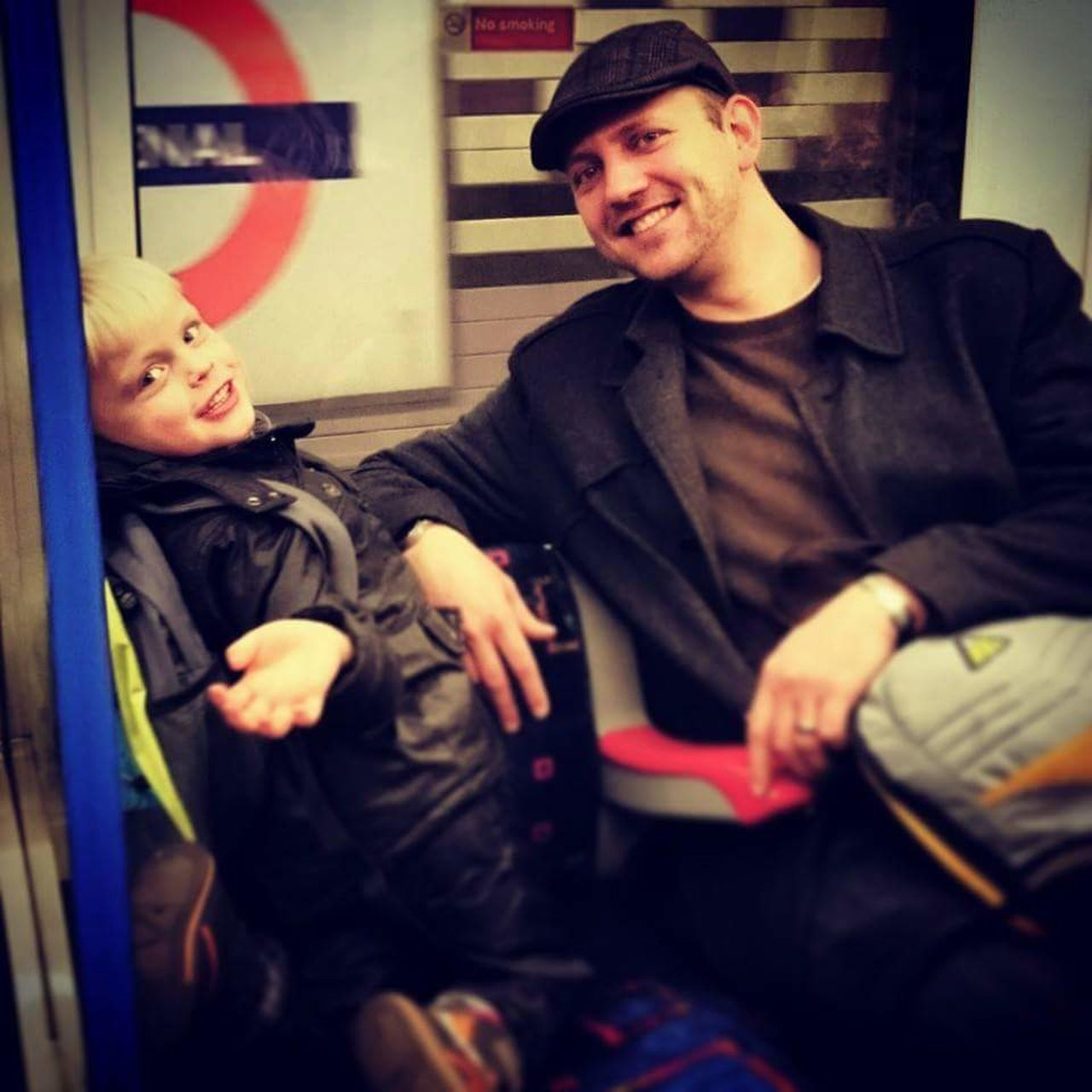 The City Light London Underground Traveling In The Tubes City Life Underground Station  Underground Lighting Commuting Home Commuter Train First Underground Experience Smiling Face Happy Lads Fastrack Fast Train Fast Lifestyle Background Defocus Background Colour.