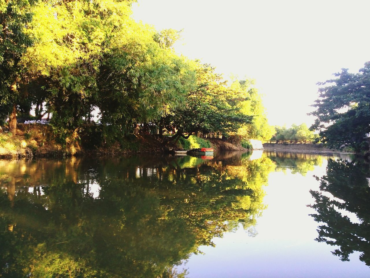 Outdoors Reflection Lake Water Lake Tree Beauty In Nature Nature Reflection Philippines <3 Las Piñas City PhonePhotography