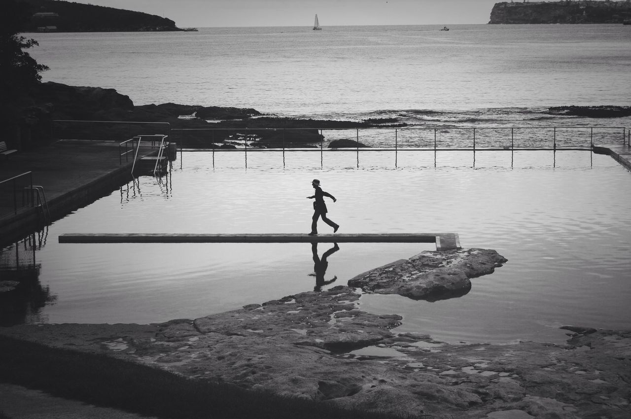 Beautiful stock photos of walk, Calm, Day, Full Length, Horizon Over Land