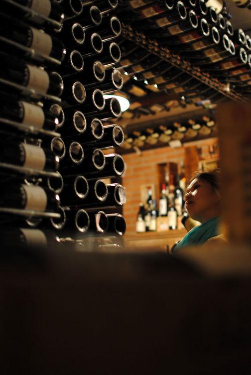 Observing Selective Focus Wine Appreciation Wine Borders Wine Cellar Wine Collection