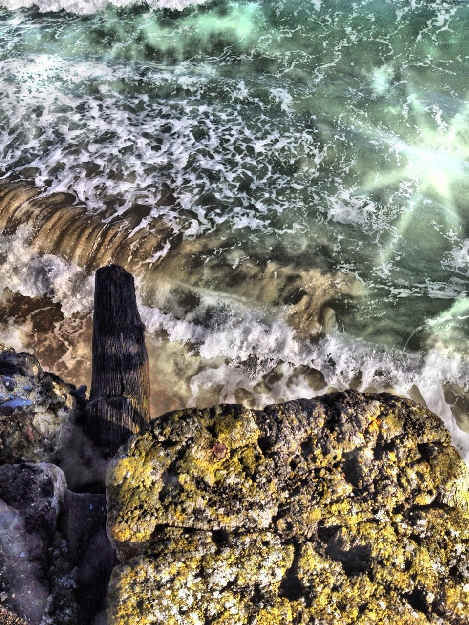 water, rock - object, motion, day, no people, nature, outdoors, beauty in nature, power in nature, built structure, sea, architecture, wave