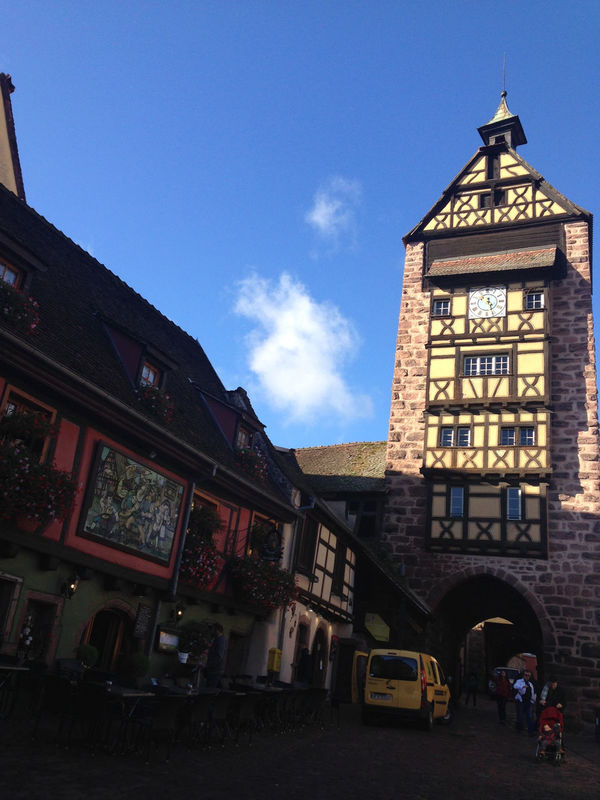 Alsace France Riquewihr Urban Lifestyle Winery