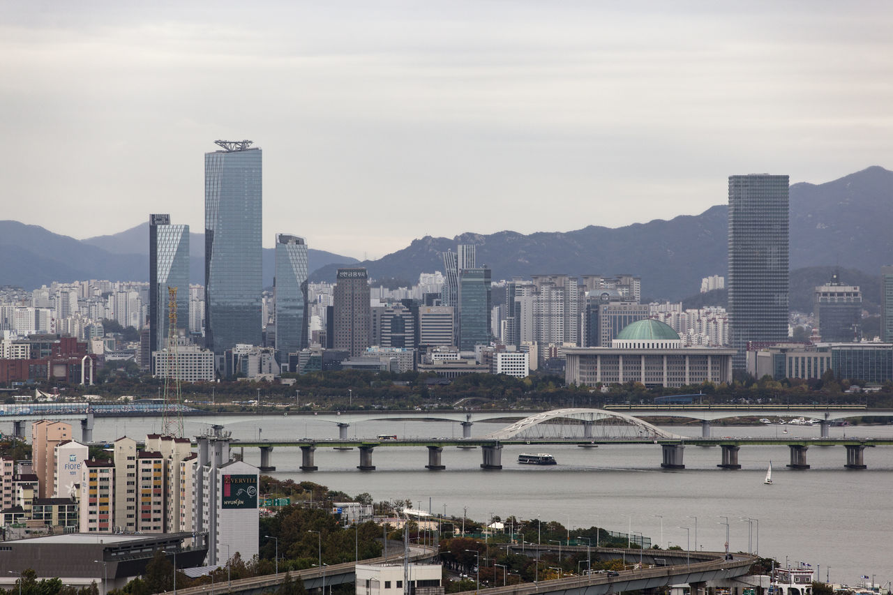 Beautiful stock photos of south korea,  Architecture,  Bridge - Man Made Structure,  Building Exterior,  Built Structure