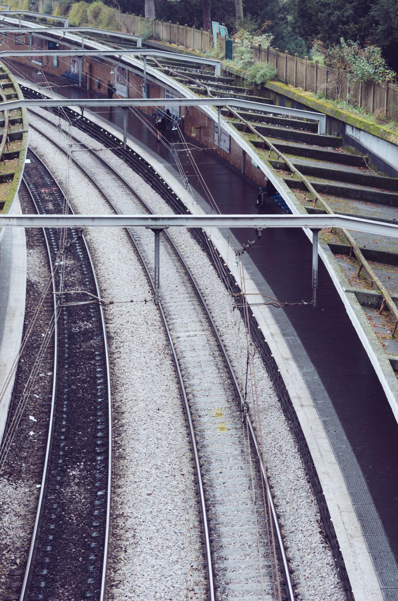 Gare Cite Univesite #film #lazyday #Paris #france  #park Public Transportation Rail Transportation Railroad Station Railroad Station Platform Railroad Track Transportation