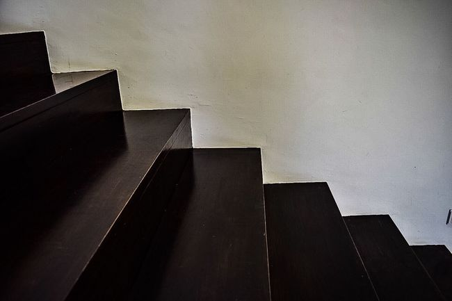 Monochrome Photography Steps And Staircases Indoors  Modern Steps Stairs Geometric Shape Architectural Wall Staircase Angle Concepts TakeoverContrast