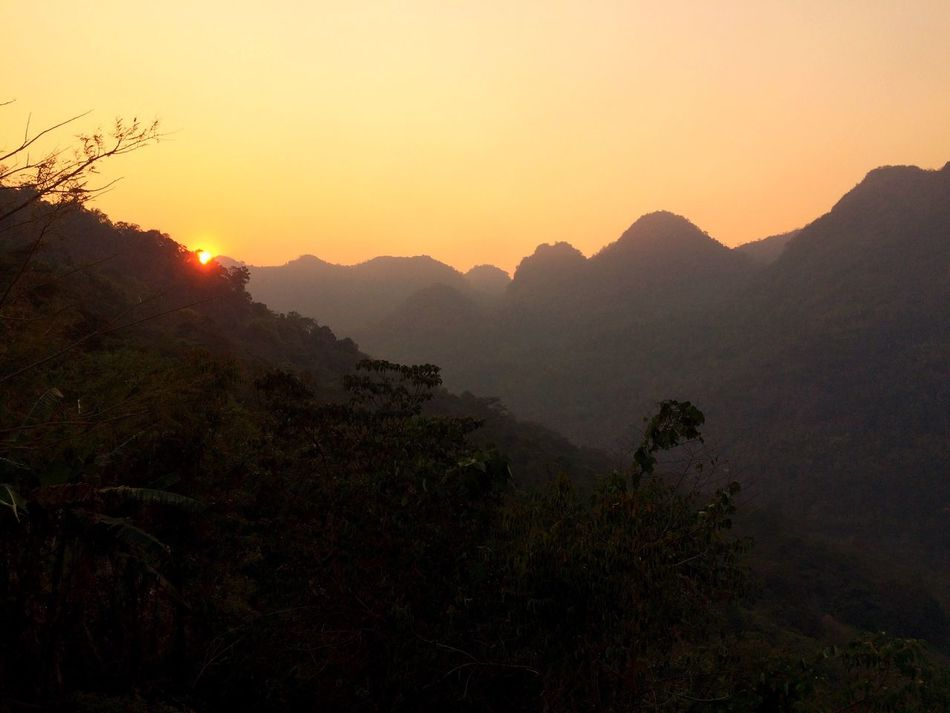 Sunset Mountain Mountains Landscape Landscape_photography Chiang Mai | Thailand Chiang Dao Doi Doi Luang, Chiang Dao