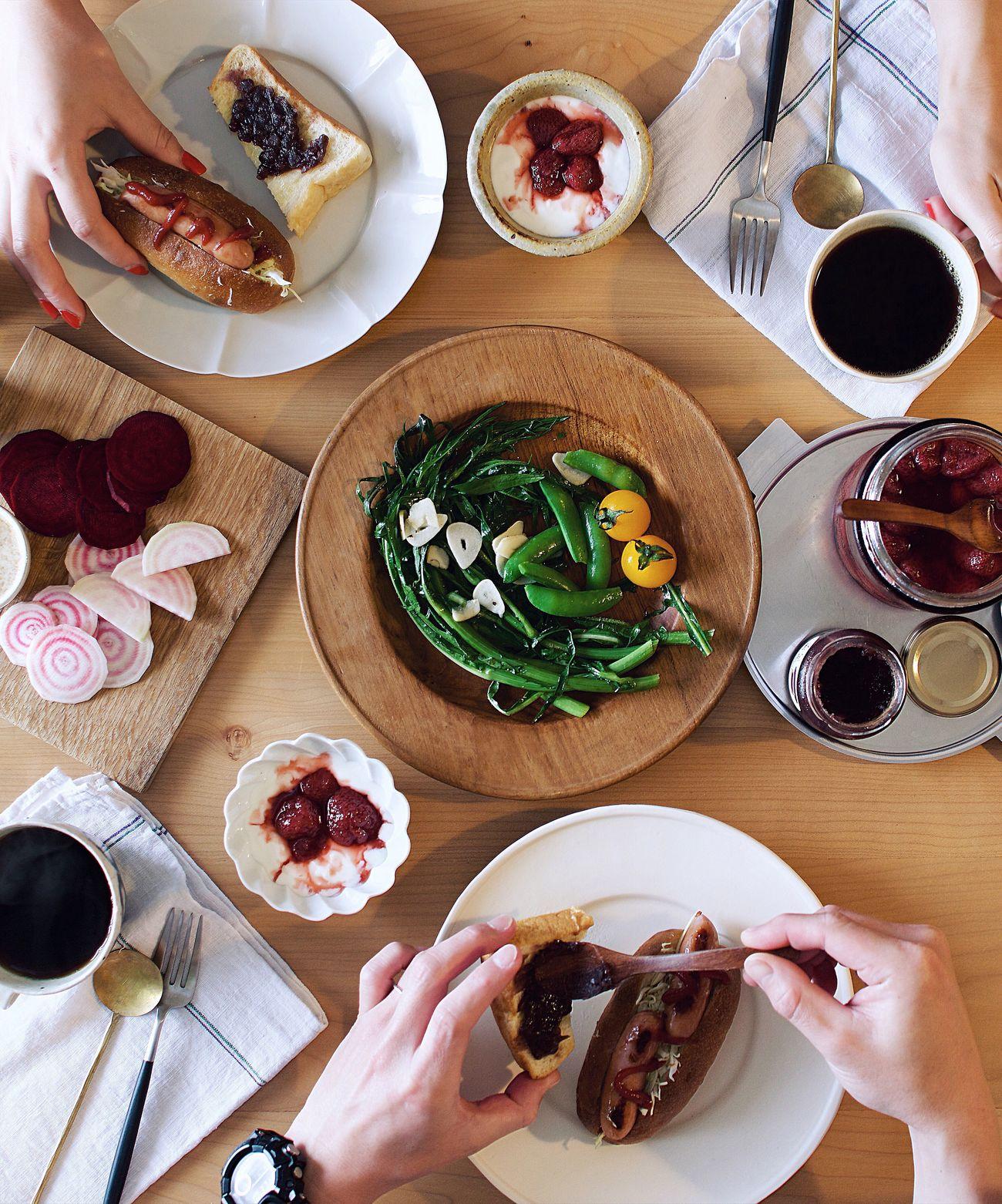 Japan Onmytable Onthetable Life Nikon Contrast Table Food Foodstyling 朝食 食卓 おうちカフェ おうちごはん 朝ごはん 暮らし Coffee Morning My Favorite Breakfast Moment Breakfast Interior