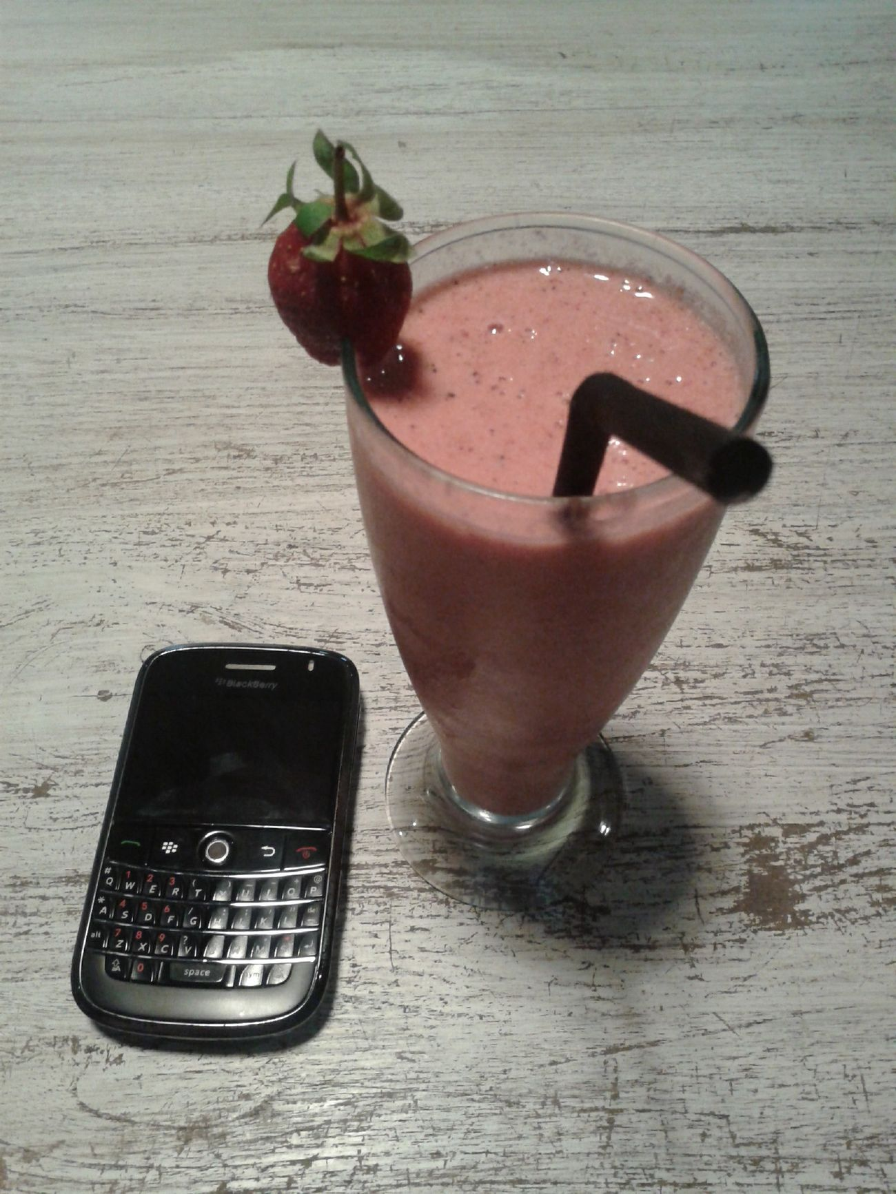 Mocktail Yummy Drink Strawberry Cookies Kopi Teko