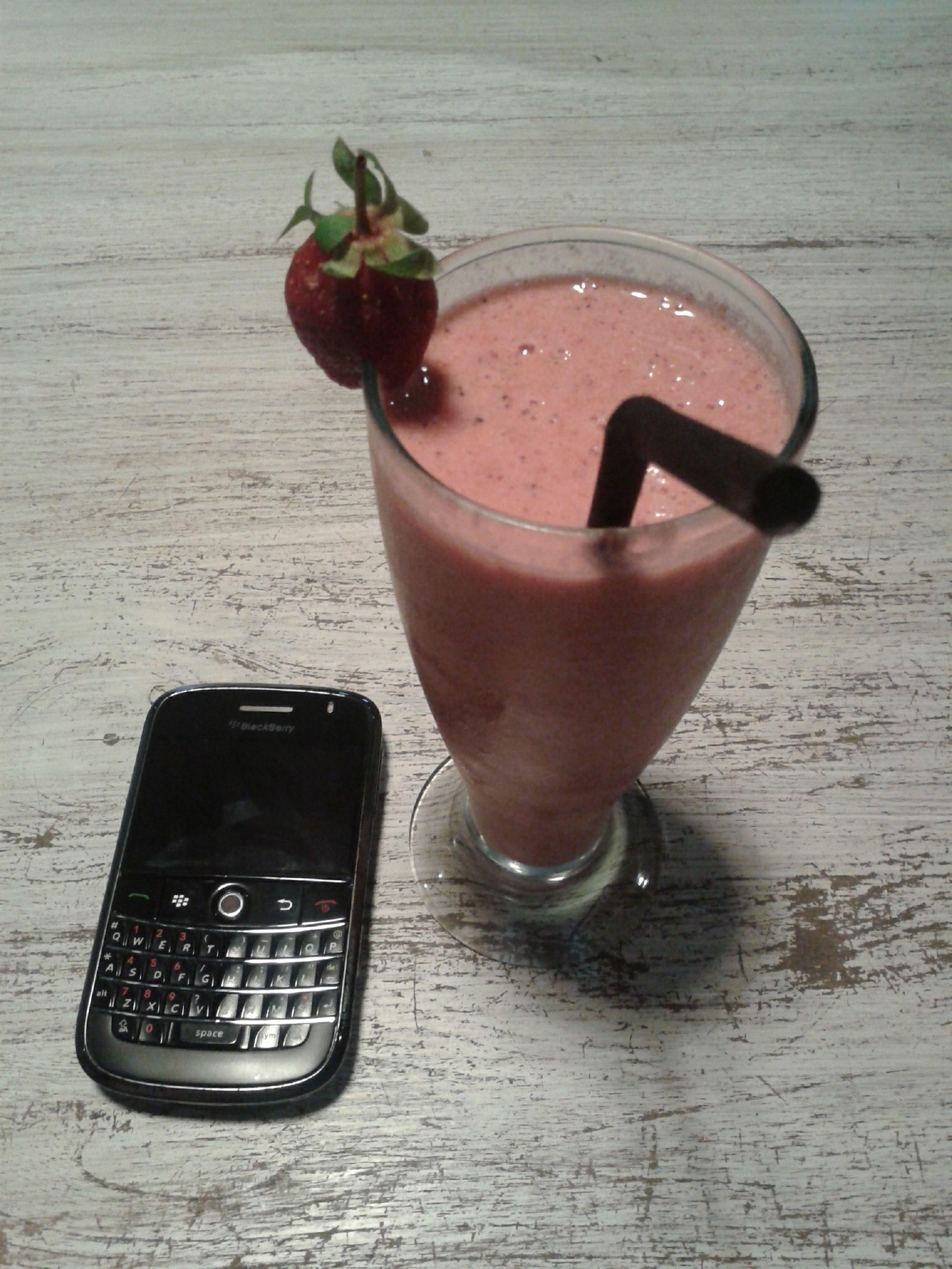 Mocktail Yummy Drink Strawberry Cookies Kopi Teko