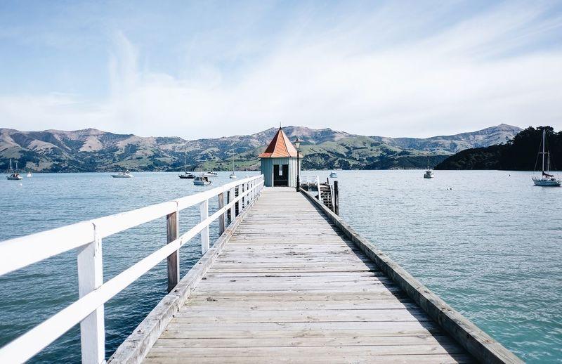 A little pier at Akaroa, NZ. Newzealand FUJIFILM X-T1 Fujifilm