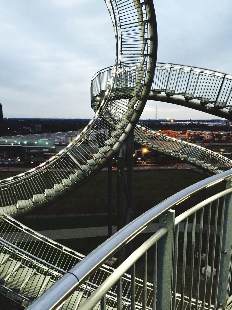 Beautiful stock photos of roller coaster, Built Structure, City, Day, No People