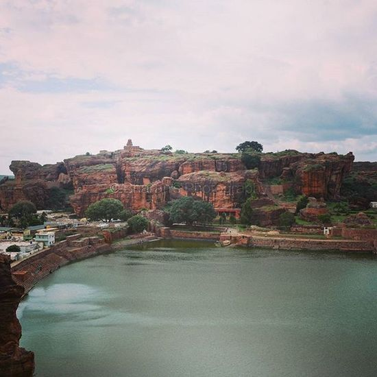 India Karnataka Badami Travel Pushkarni History
