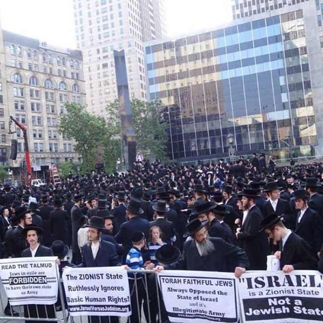 20000 Jews Protested in Wallstreet against israel jewish peace love unity racism zionism zionist zion muslim palestine it's these acts that make me feel that this world might see light one day.