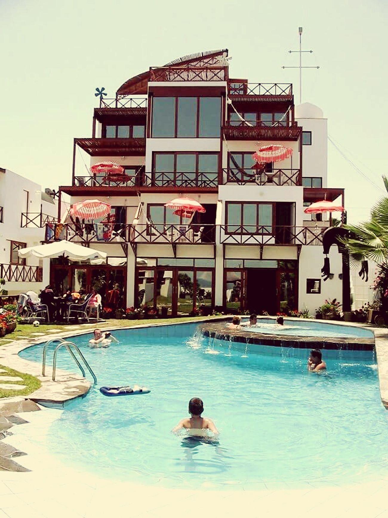 Playa Piscina PuntaHermosa Casabarco Lima-Perú Sol Hotel