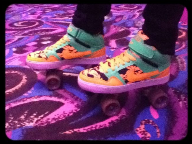 My brother's new skate's