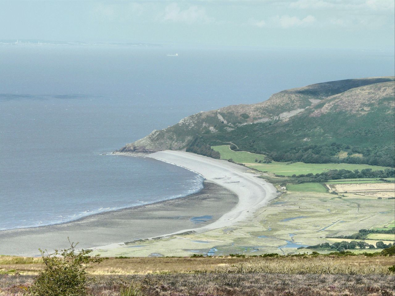 Looking Down At Porlock Bay From Exmoor Nature On Your Doorstep Summer Memories 🌄 Relaxing Taking Photos