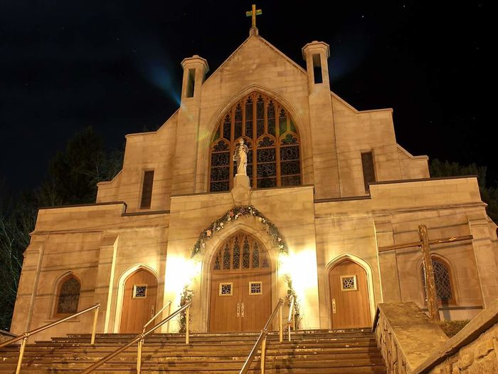 Nightphotography Architecture Illuminated Church Night Place Of Worship Sky Night Photography Taking Photos Check This Out Hanging Out Building Exterior Entryway History